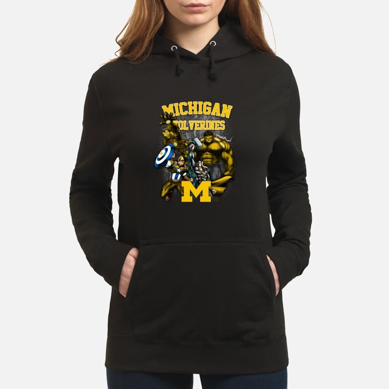 Marvel Michigan Wolverines Hoodie