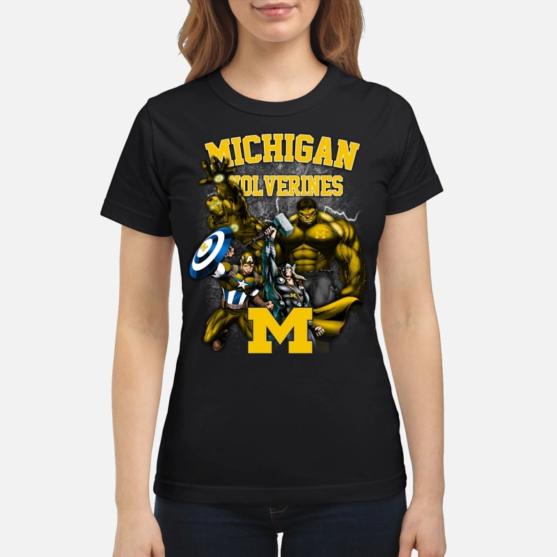 Marvel Michigan Wolverines Ladies