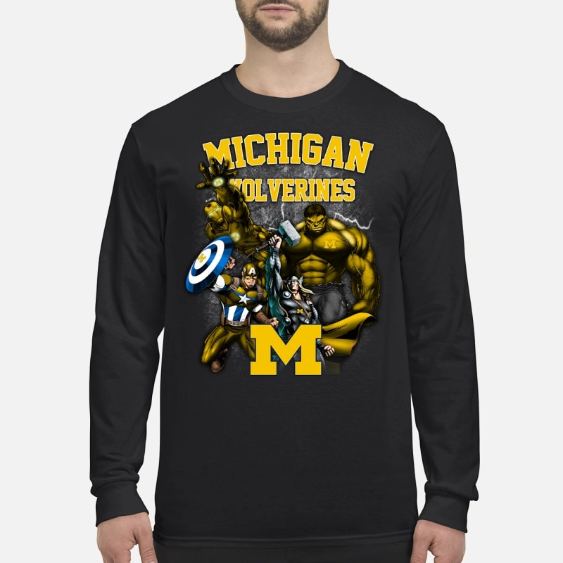 Marvel Michigan Wolverines Longsleeve