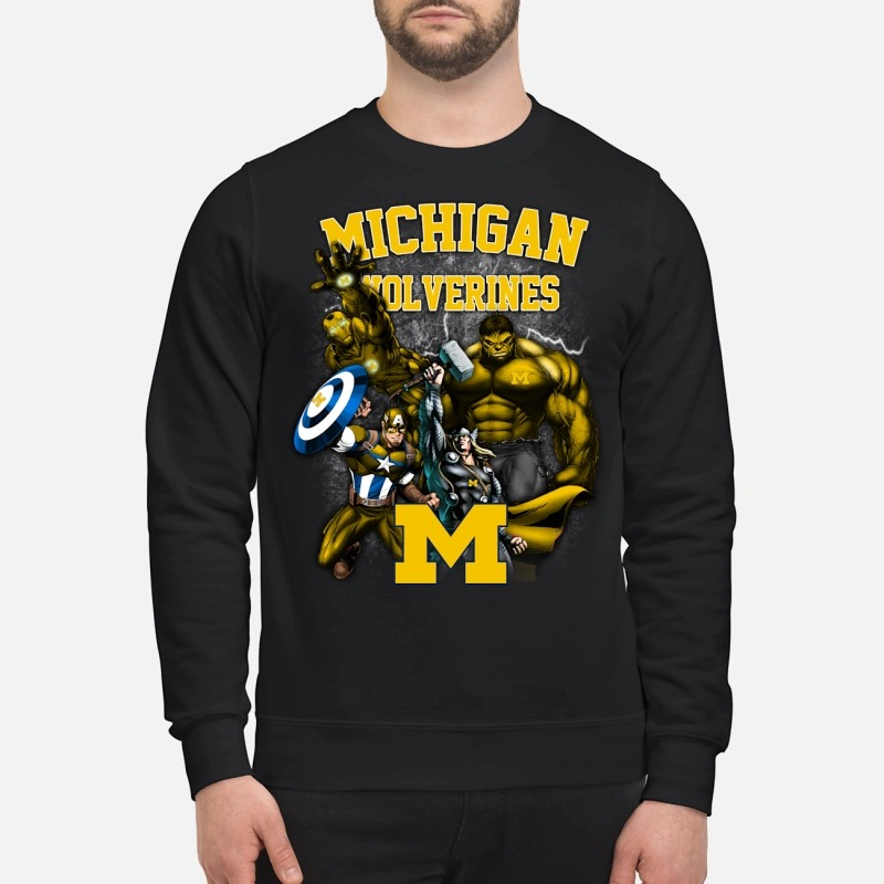 Marvel Michigan Wolverines Sweater