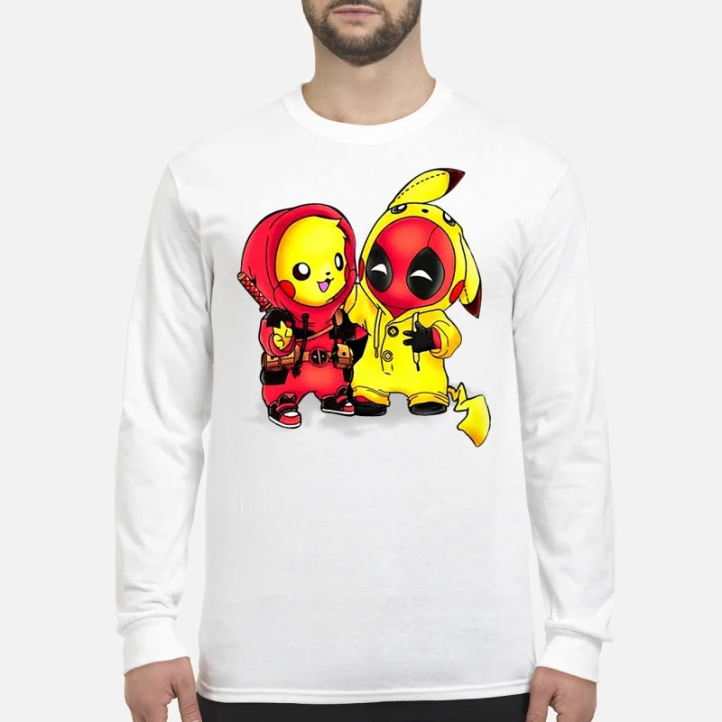 Pikapool Pikachu and Deadpool Longsleeve