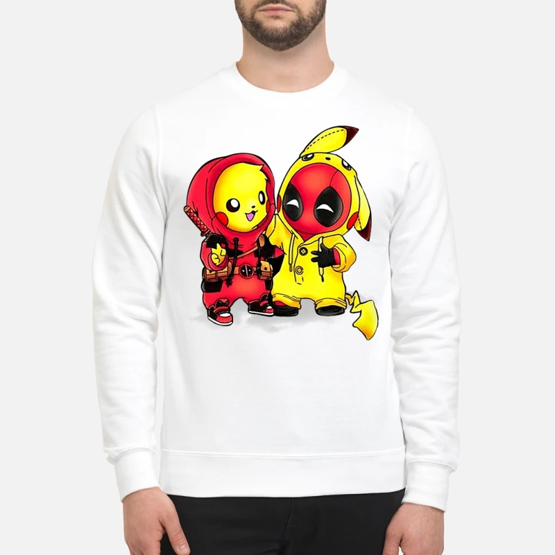 Pikapool Pikachu and Deadpool Sweater