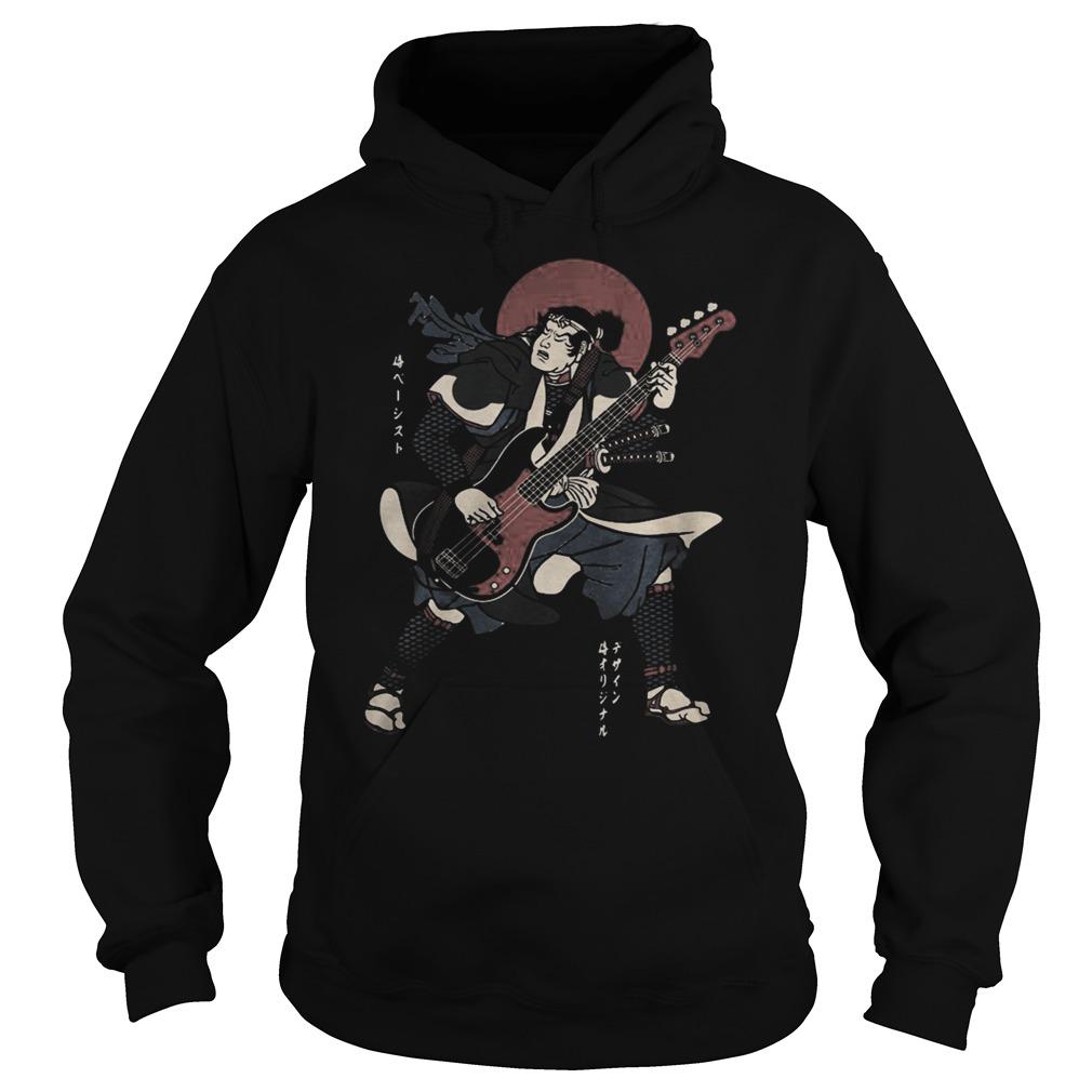 Samurai guitar Hoodie