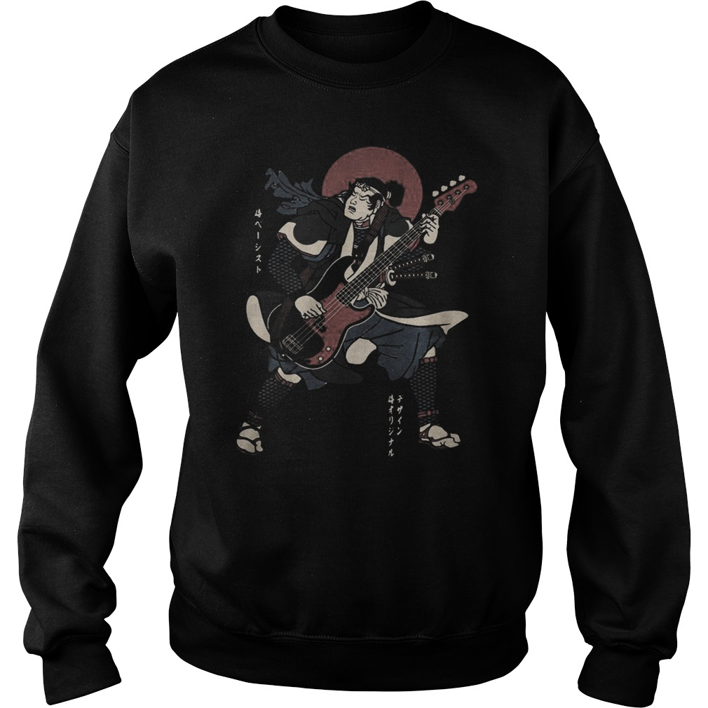 Samurai guitar Sweater