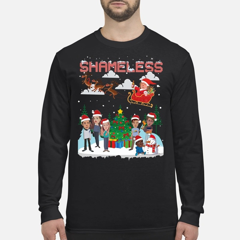Shameless chibi ugly Christmas Longsleeve