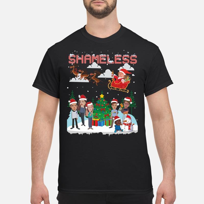 Shameless chibi ugly Christmas Shirt