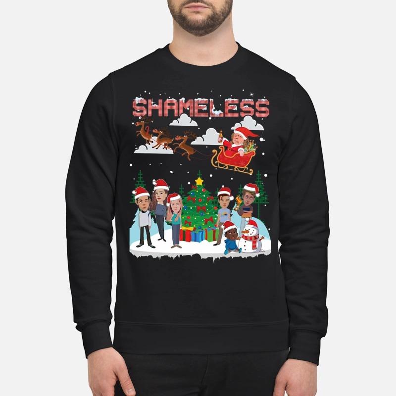 Shameless chibi ugly Christmas sweater
