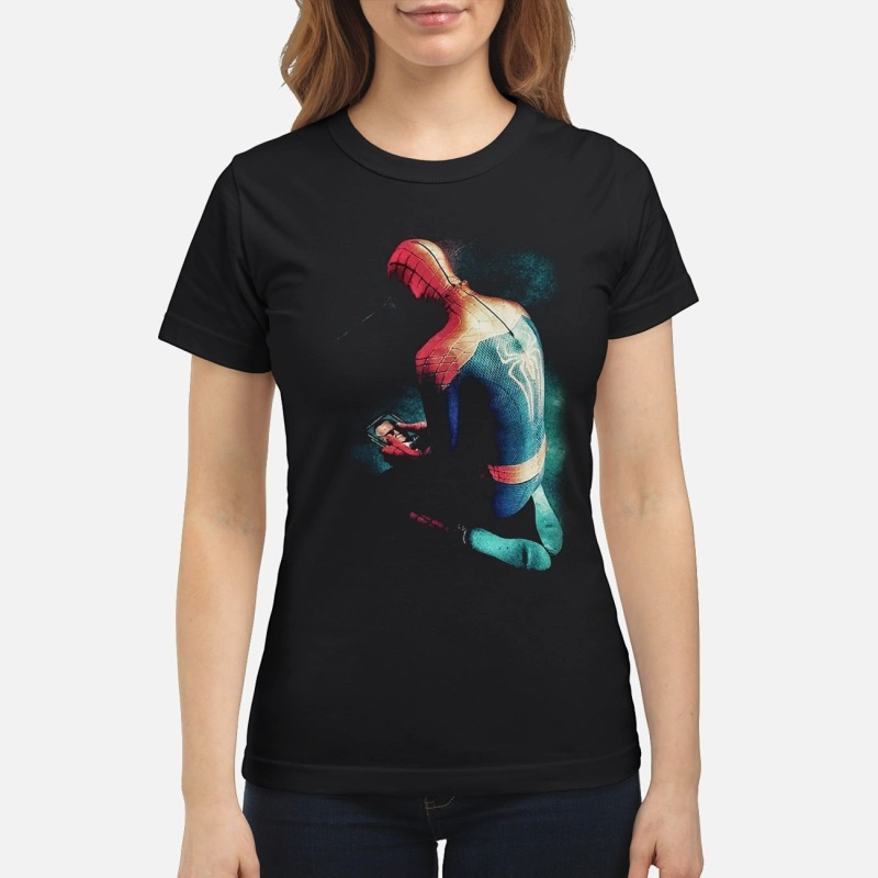 Spider-man crying for Stan Lee shirt
