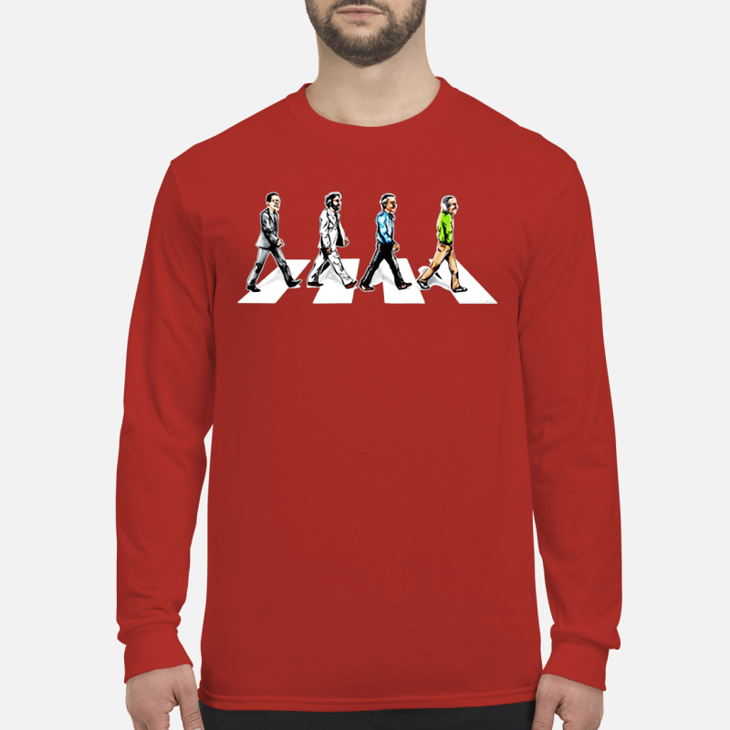 Stan Lee crossing Abbey road LongSleeve t-shirt