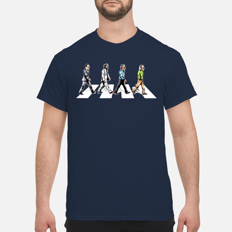 Stan Lee crossing Abbey road shirt