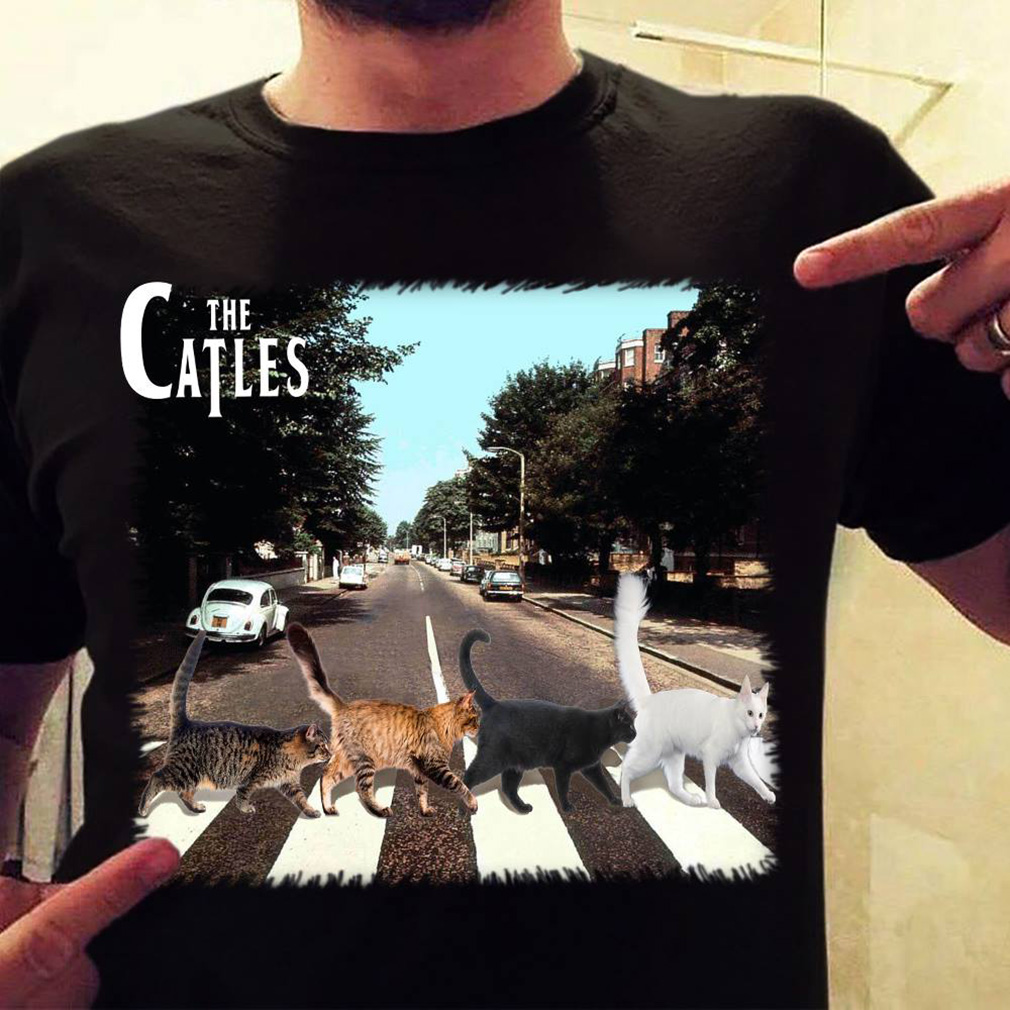 The Catles crossing Abbey road shirt