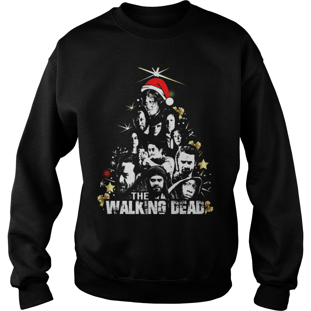 The Walking Dead Christmas Tree Sweater 1stees