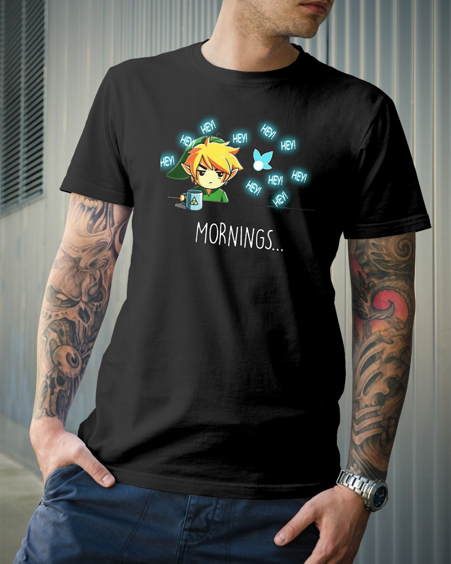 Zelda Hey morning shirt