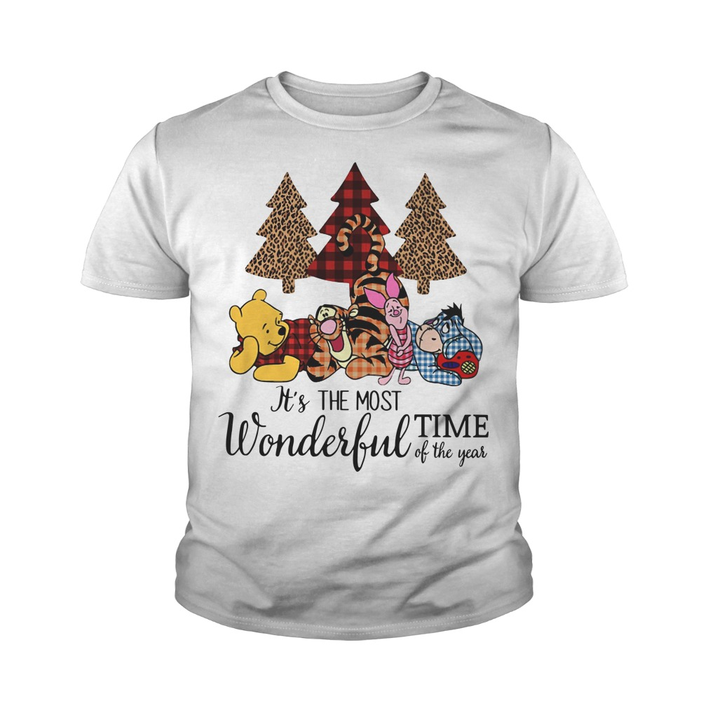 Winnie The Pooh It's the most wonderful time of the year youth tee