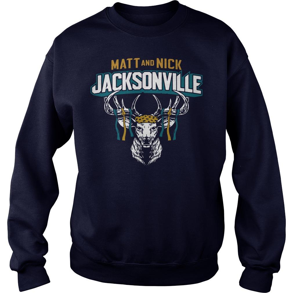 Matt and Nick Jacksonville sweater