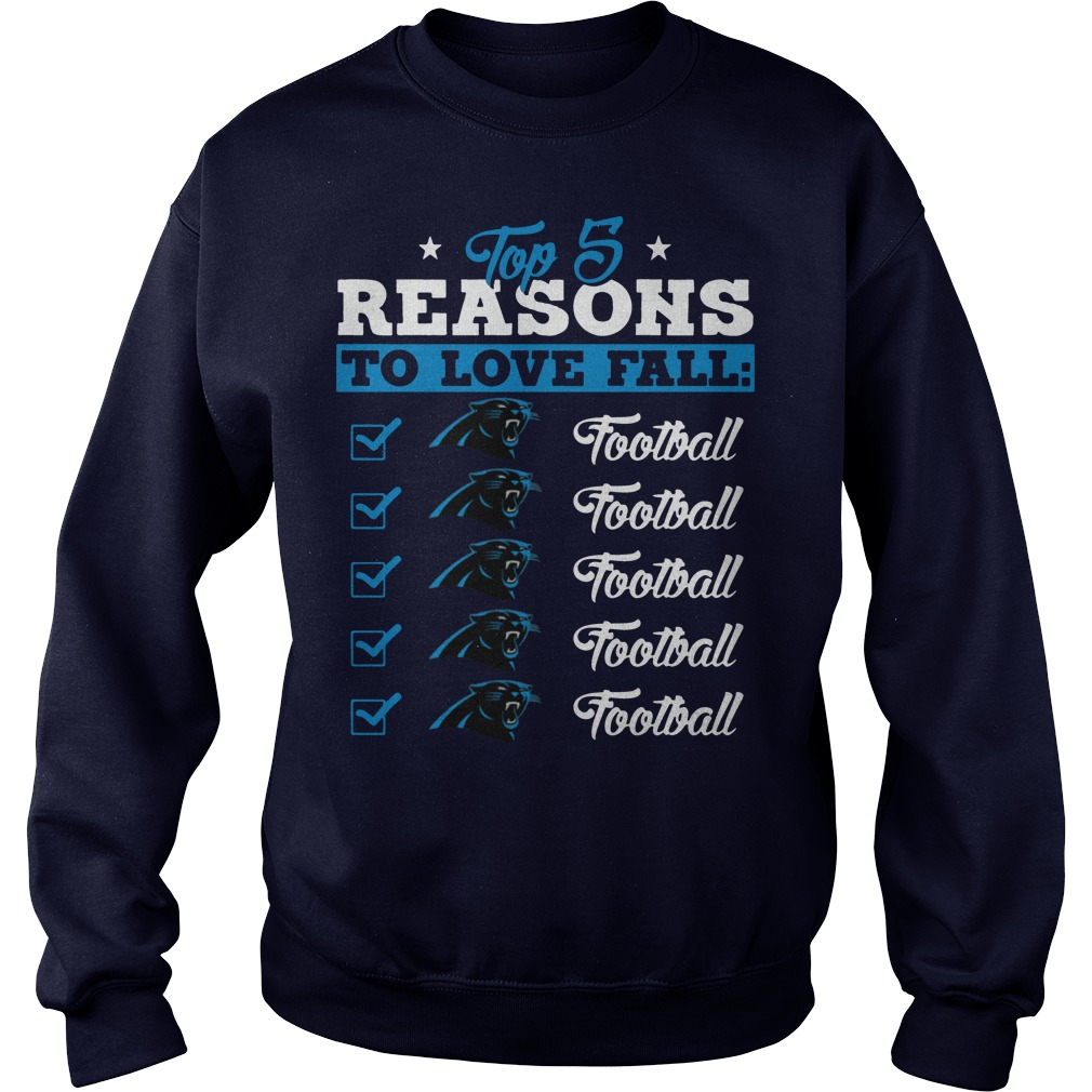 Top 5 reasons to love falls Panthers football team sweater