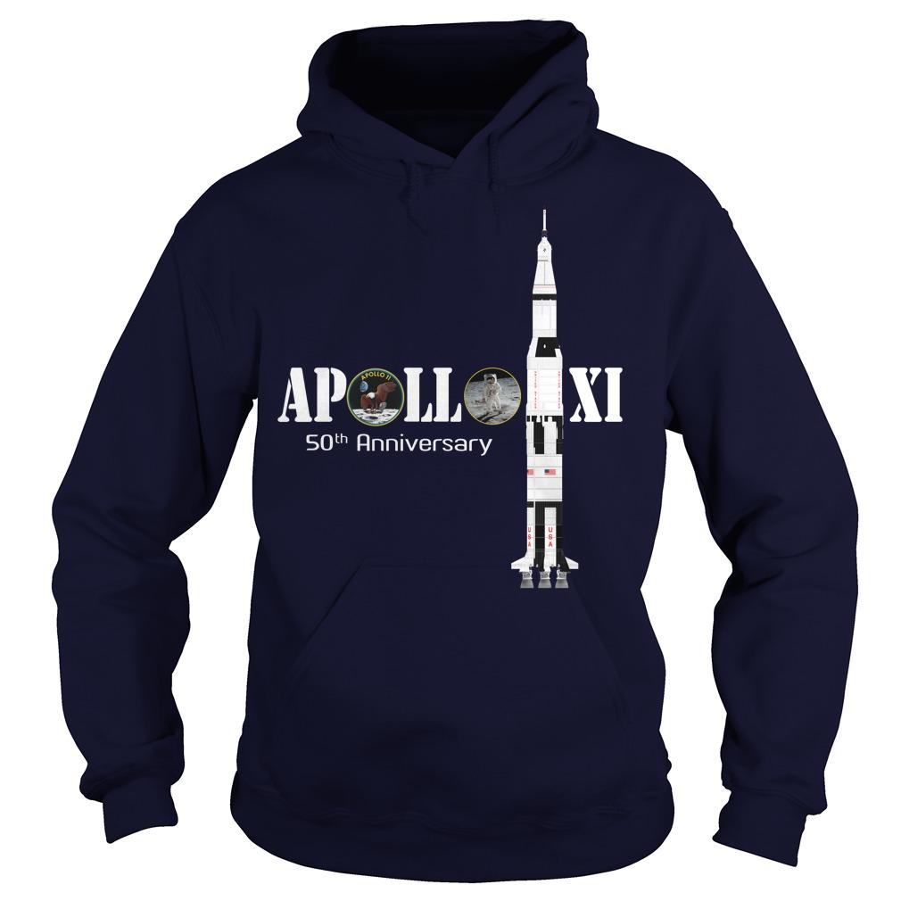 Apollo XI 50th anniversary hoodie