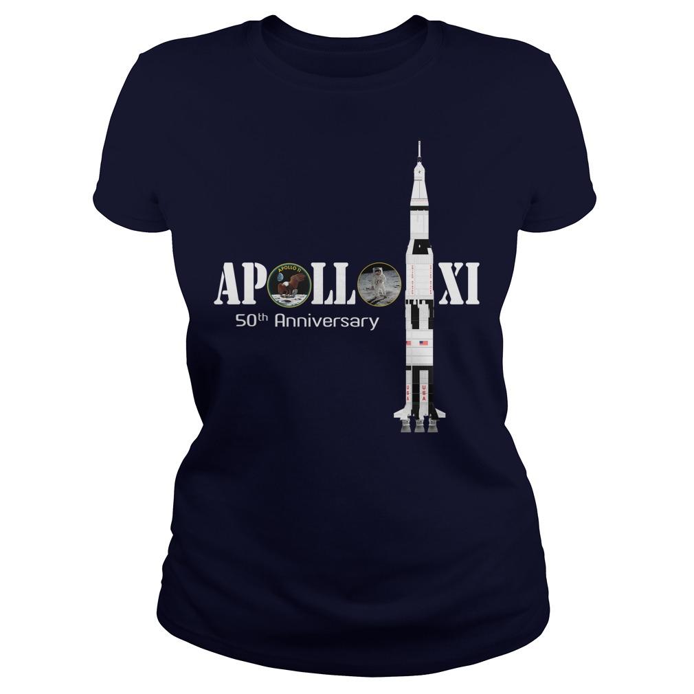 Apollo XI 50th anniversary ladies tee