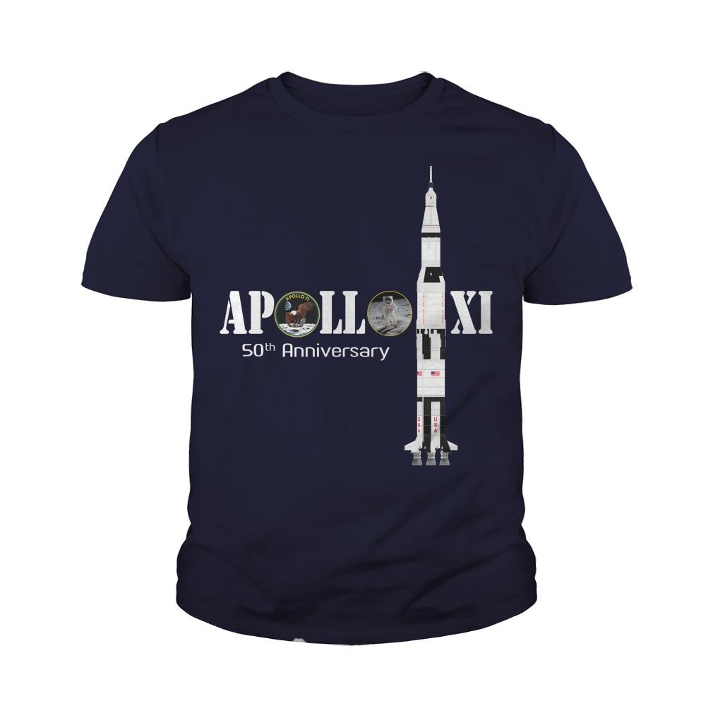 Apollo XI 50th anniversary youth tee