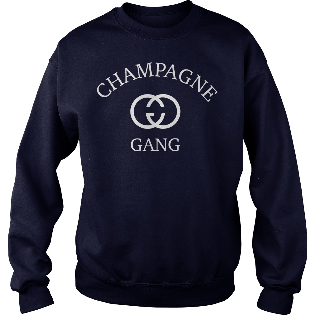 Champagne gang sweater