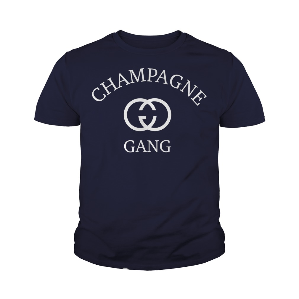 Champagne gang youth tee