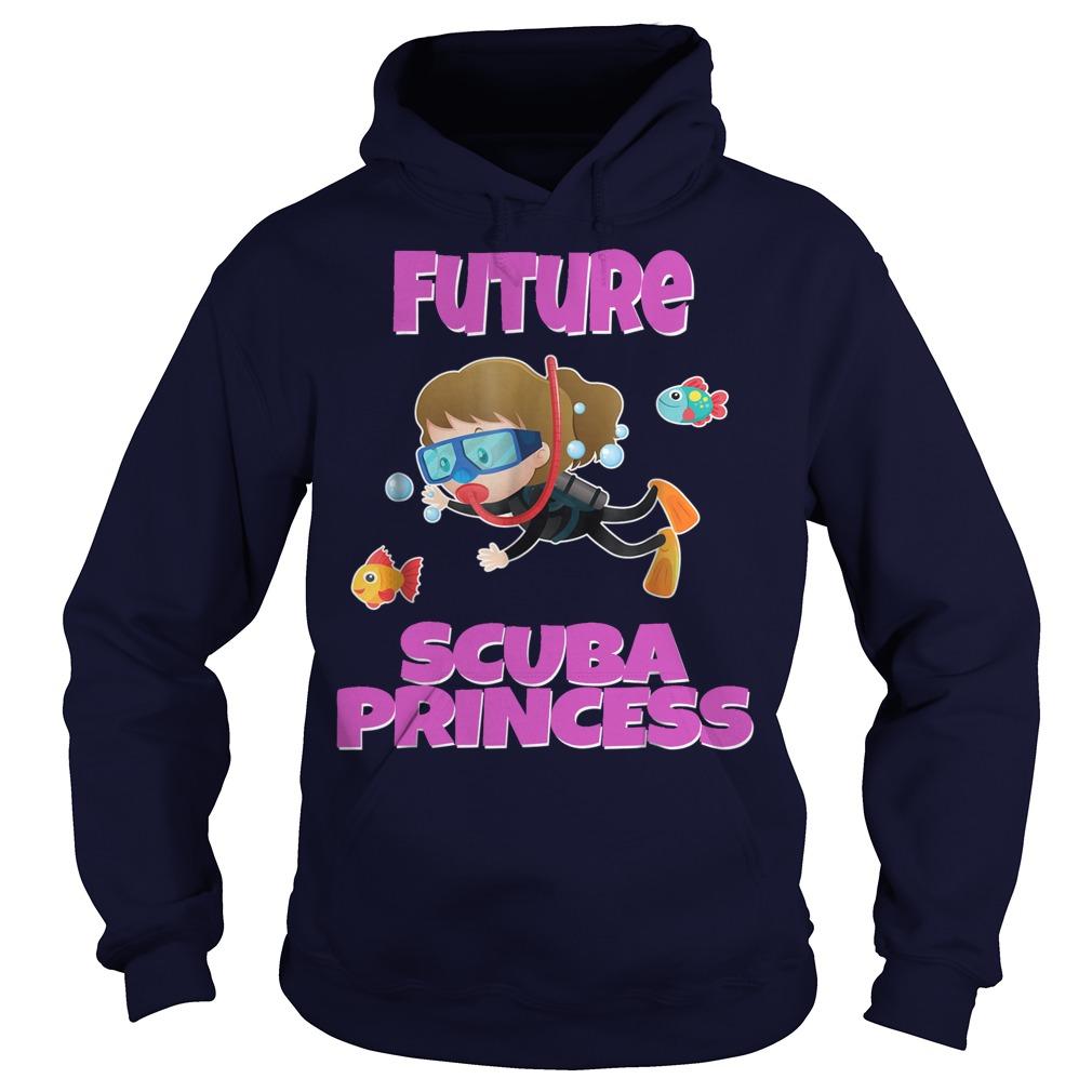 Future Scuba Princess Snorkeling hoodie