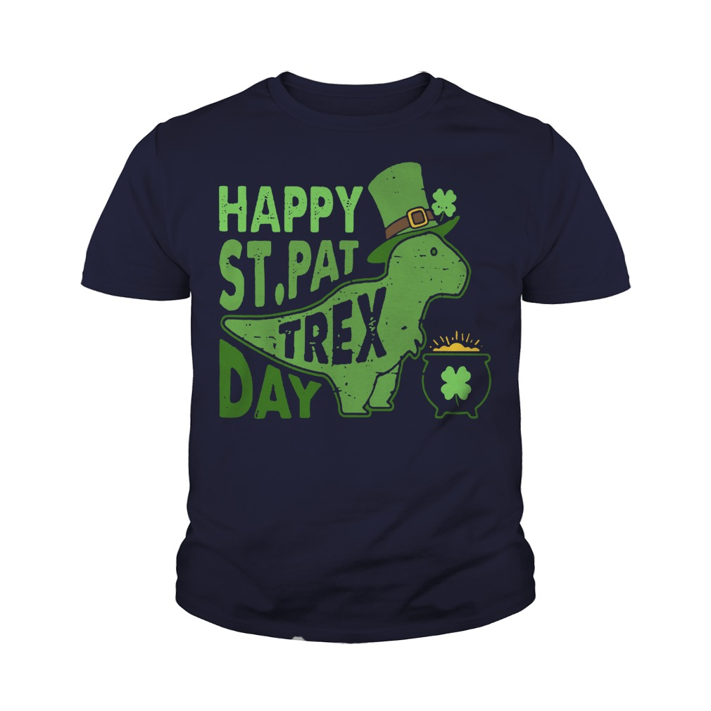 Happy st pat trex day youth tee