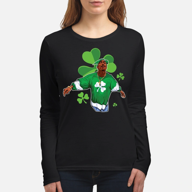 St Patrick's day Snoop Dogg long sleeve