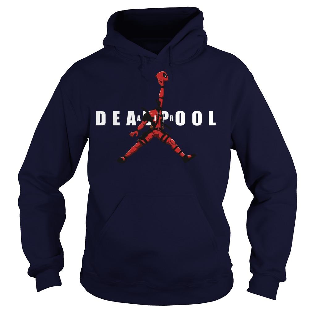 Air Jordan Deadpool Basketball hoodie