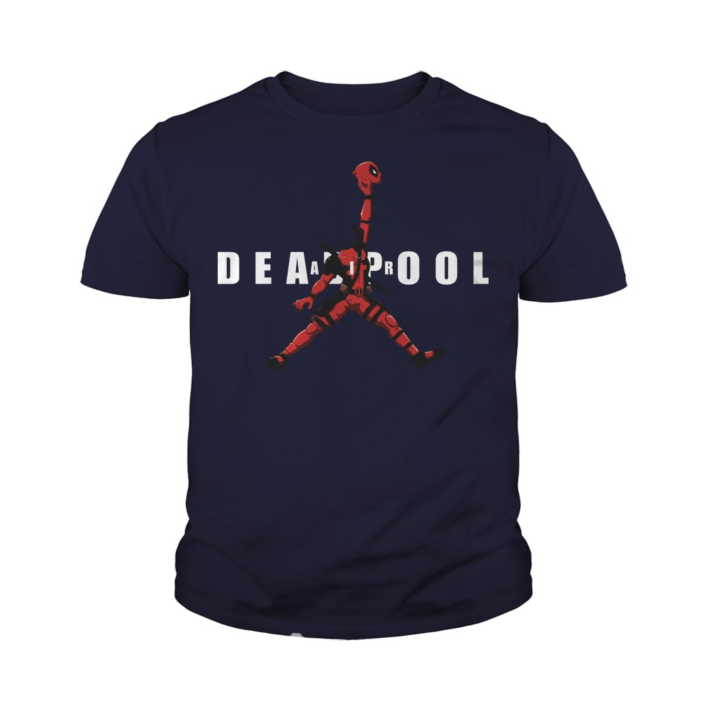 Air Jordan Deadpool Basketball youth tee