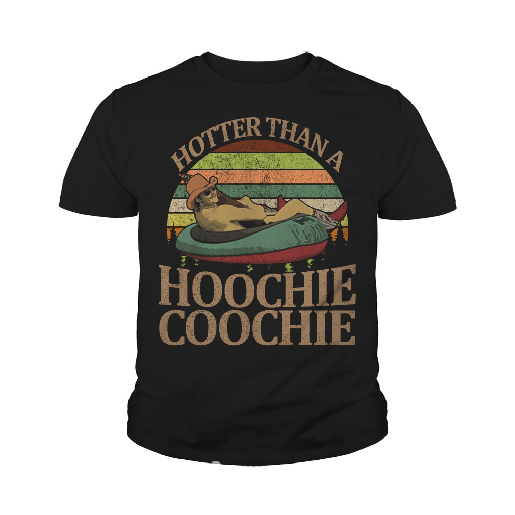 Alan Jackson hotter than a hoochie coochie vintage sunset youth tee
