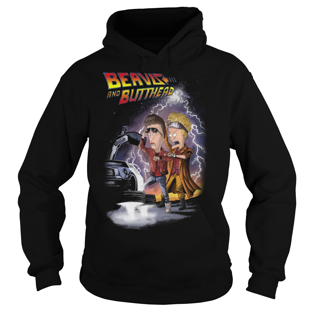 Beavis and butthead car hoodie