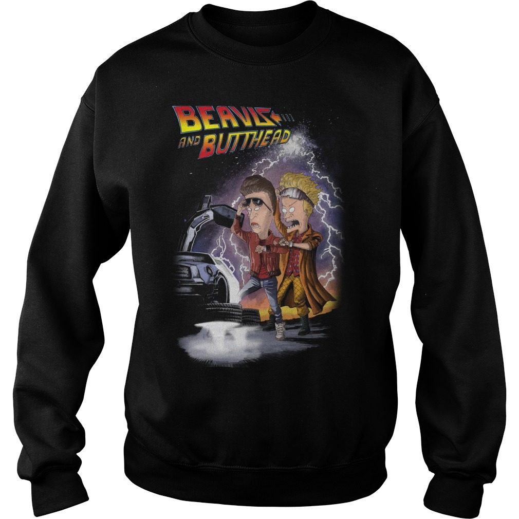 Beavis and butthead car sweater