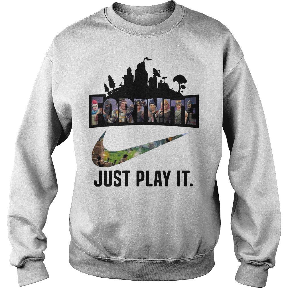 Fortnite Battle Royale Nike just play it sweater