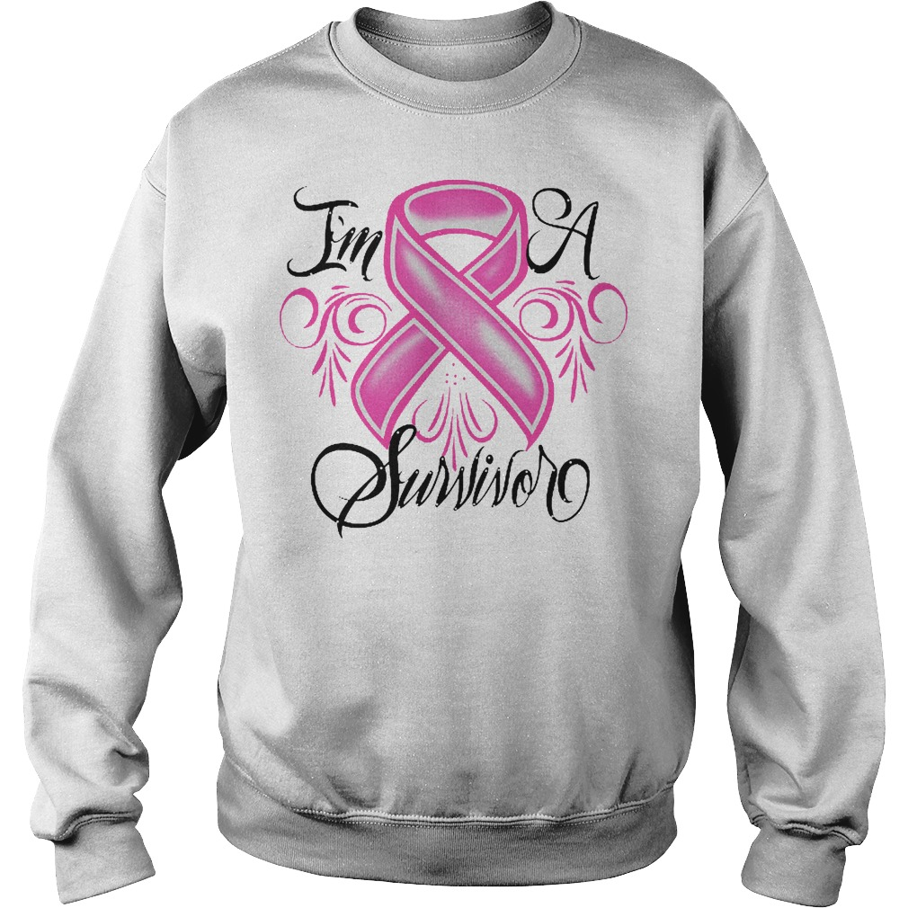 I'm A Survivor Breast Cancer sweater