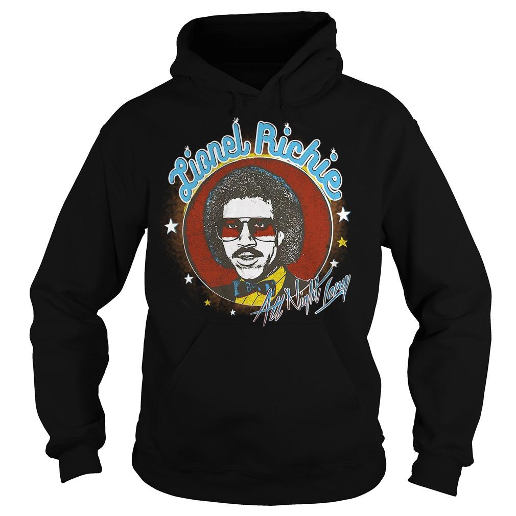 Lionel Richie All Night hoodie