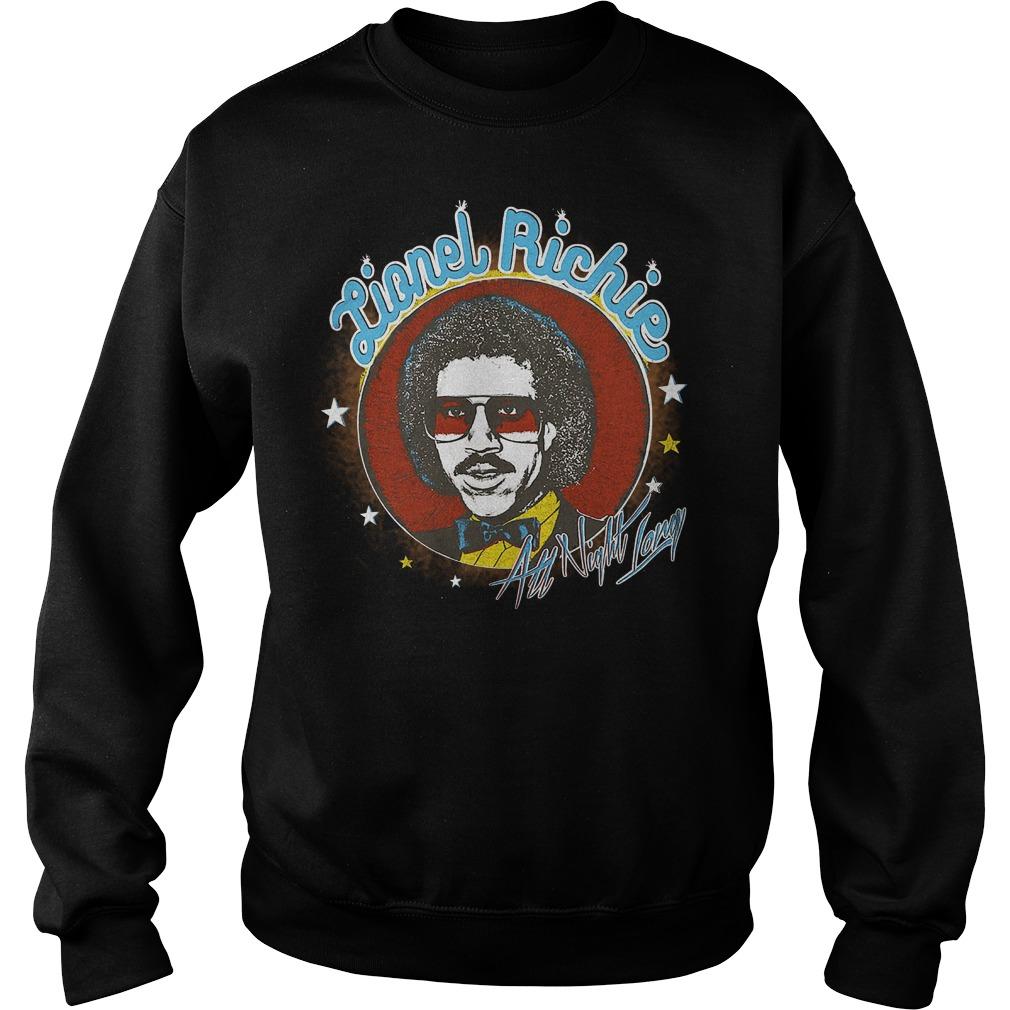 Lionel Richie All Night sweater