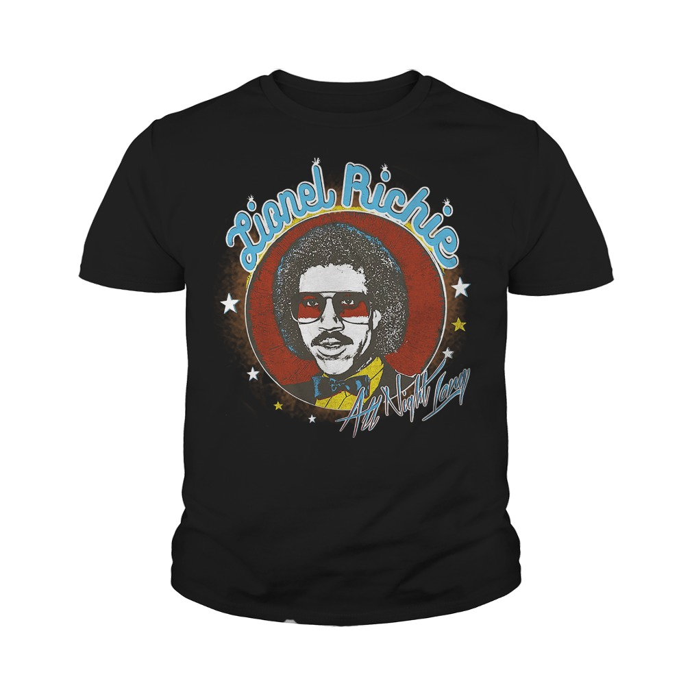 Lionel Richie All Night youth tee
