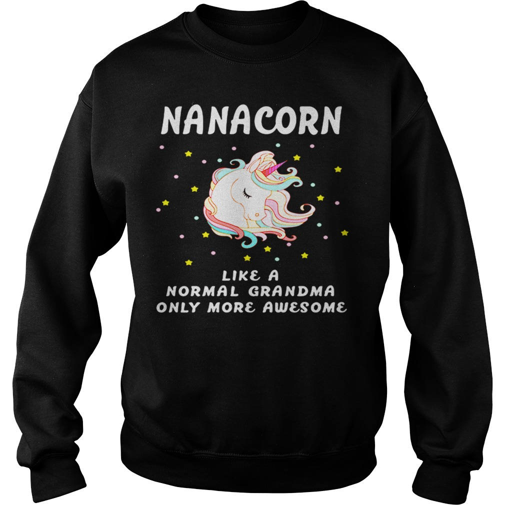 Nanacorn like a normal grandma only more awesome sweater