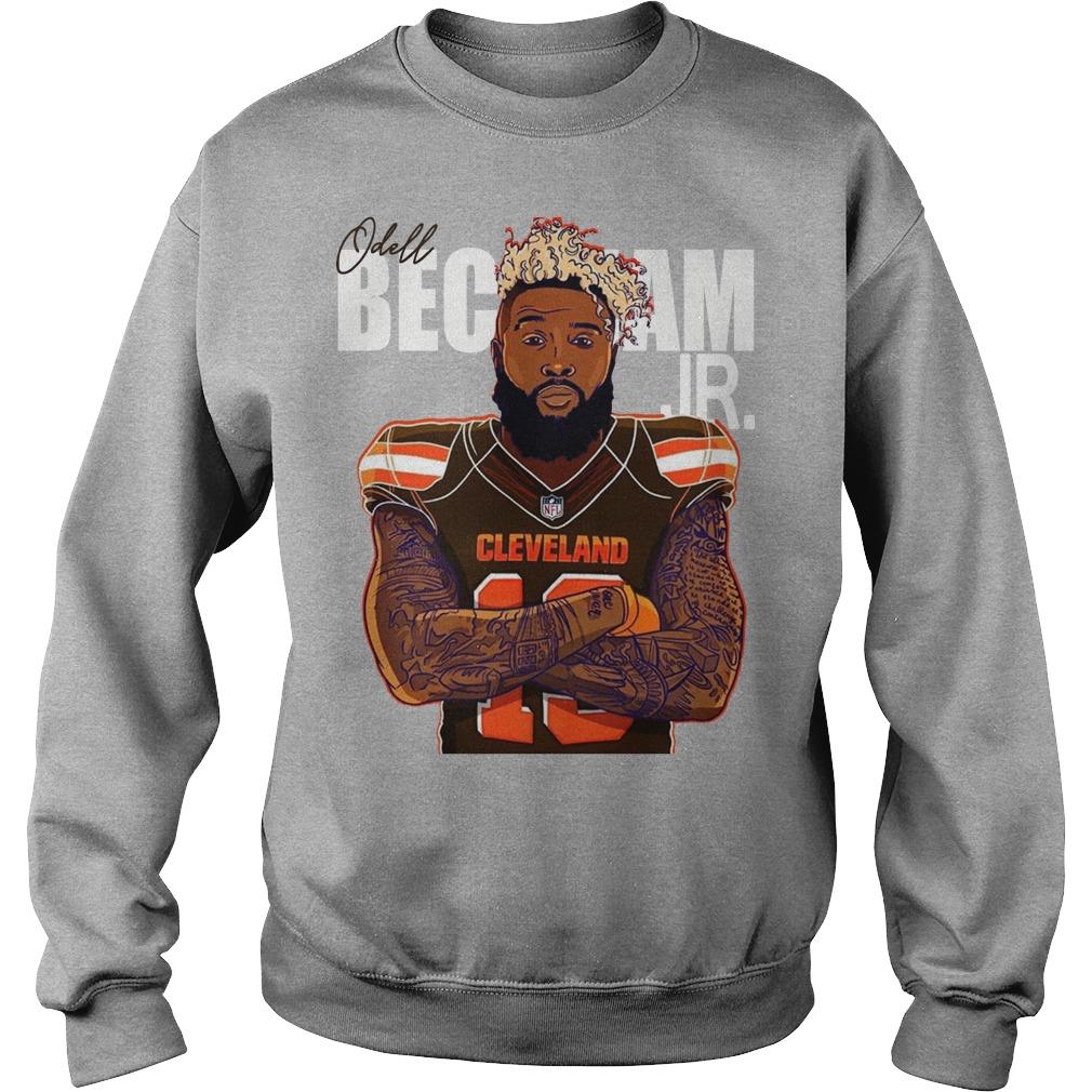 Odell Beckham Cleveland sweater