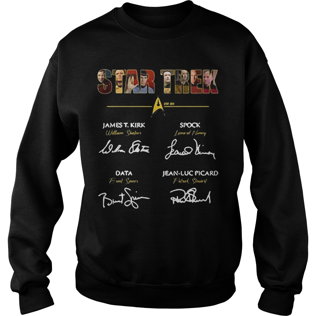 Star Trek James T.Kirk signature sweater