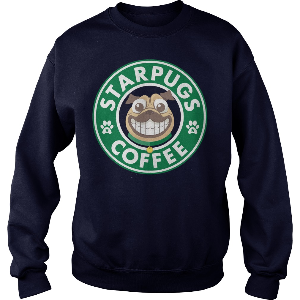 StarPugs coffee for Pug lovers sweater
