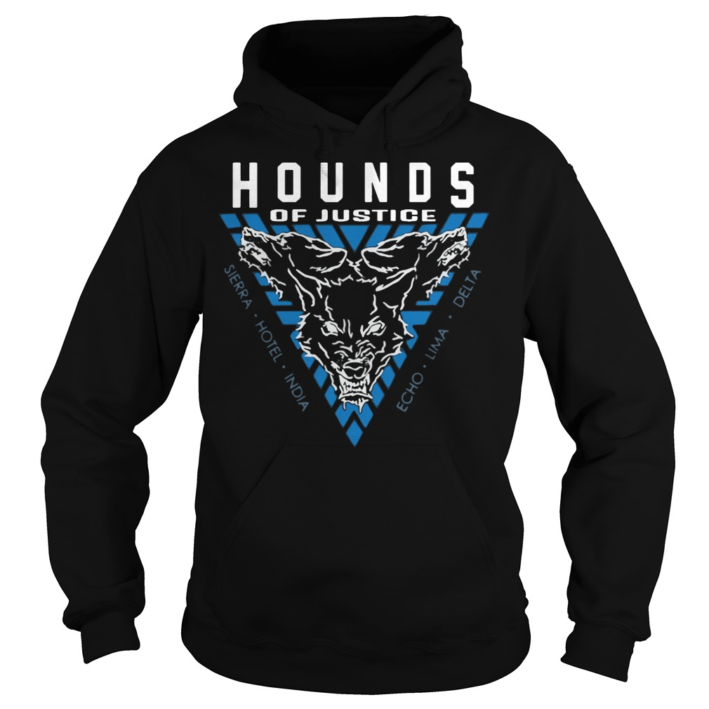The Shield Hounds of Justice Authentic hoodie