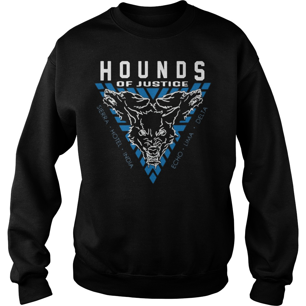 The Shield Hounds of Justice Authentic sweater