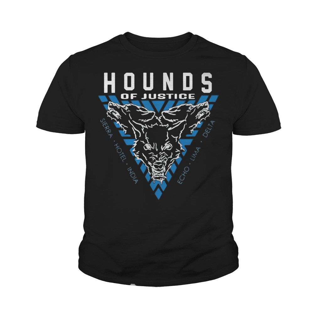 The Shield Hounds of Justice Authentic youth tee