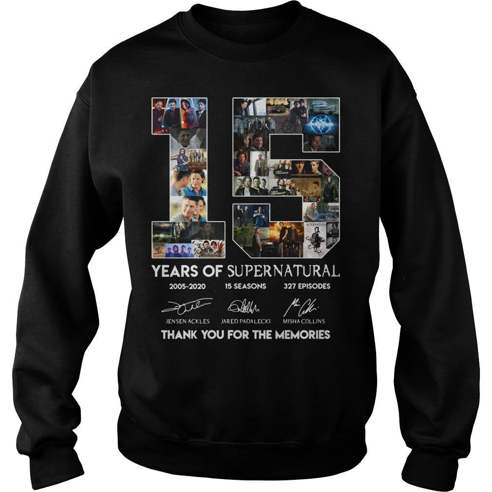15 years of Supernatural sweater