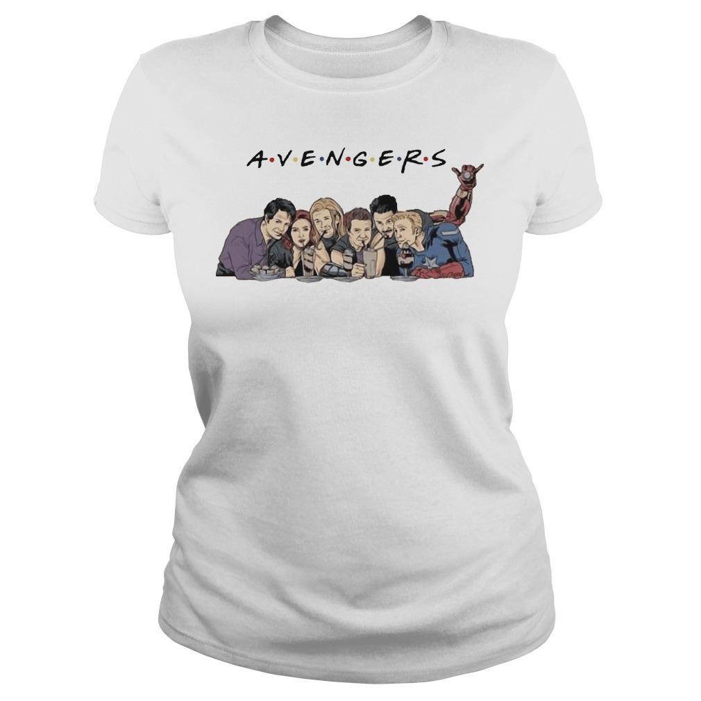 Avenger Friends ladies tee
