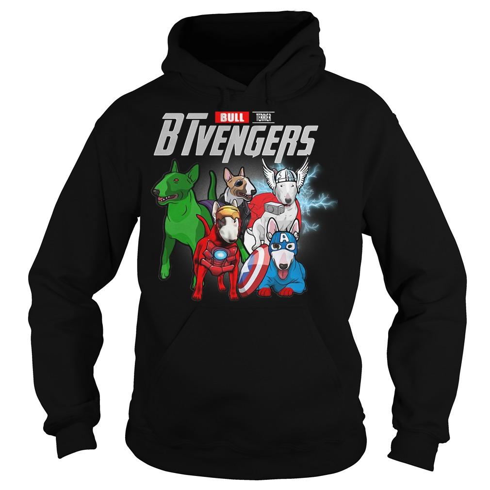 Bull Terrier BTvengers Marvel Avengers hoodie