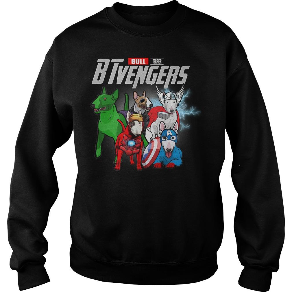 Bull Terrier BTvengers Marvel Avengers sweater