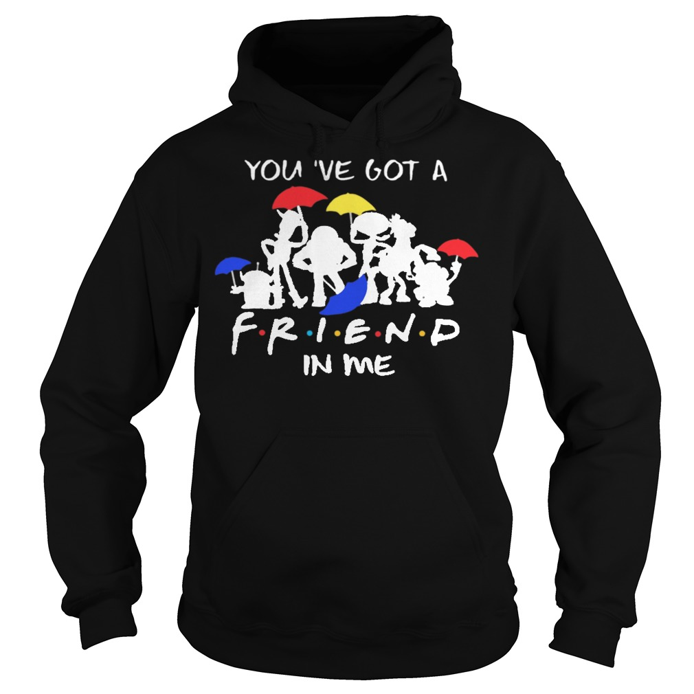 Disney toy story you've got a friend in me hoodie